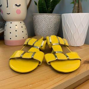 Bay Studio Yellow Wedge - Size 8